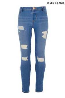 e6a09ae04a49e Girls Ripped Jeans | Girls Distressed Jeans | Next Official Site