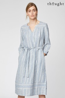 Thought Blue Luis Dress
