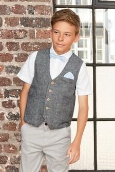 Short Sleeve Waistcoat Set (12mths-16yrs)