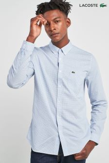 Lacoste® Gingham Blue Shirt