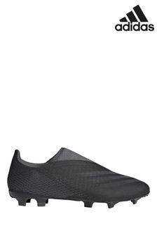 adidas Dark Motion X Laceless P3 Firm Ground Football Boots