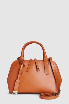 Leather Small Kettle Bag