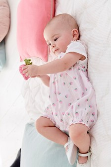 Strawberry Romper And Bodysuit Set (0mths-2yrs)