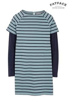 FatFace Pretty Aqua Tia Stripe Dress