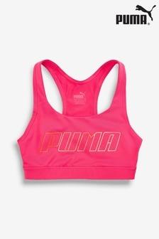 Puma® Pink Logo Bra