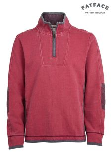 FatFace Red Airlie Sweat