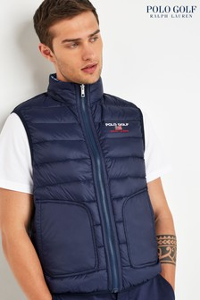Polo Golf by Ralph Lauren Navy Reversible Gilet