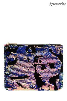Accessorize Metalic Michaela Sequin Make Up Bag