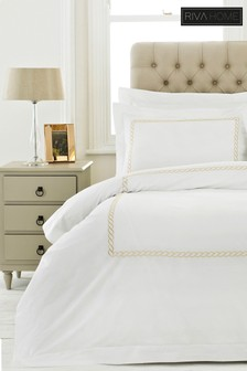 Cleopatra Duvet Cover and Pillowcase Set by Riva Home