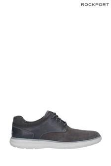 Rockport Grey Zaden Pointed Toe Blucher Shoes