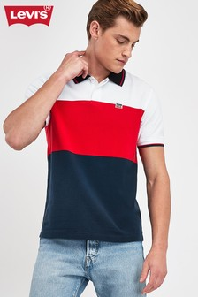 Levi's® Navy Colourblock Polo