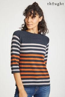 סוודר Sail La Vie בצבע כתום של Thought