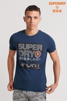 Superdry Core Logo Text Short Sleeve T-Shirt