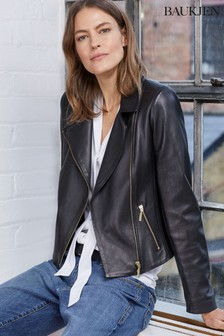 Baukjen Black Everyday Biker Jacket