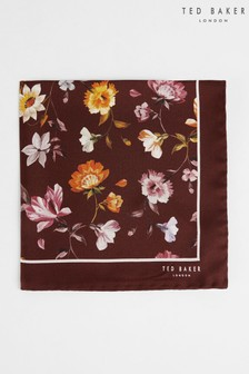 Ted Baker Fro Bold Floral Printed Pocket Square