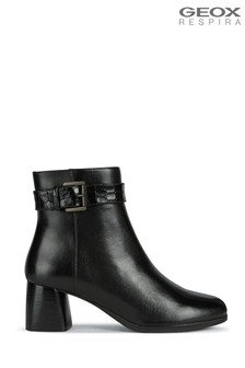Geox Woman's Calinda Black Boots
