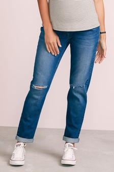 Maternity Relaxed Skinny Jeans