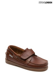 Step2wo Tan Starboard Boat Shoes