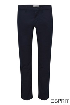 Esprit Navy Stretch Chinos