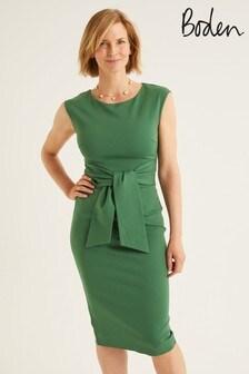 Boden Green Jessica Ponte Dress