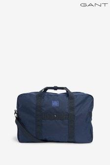 Tmavomodrá pánska športová taška GANT