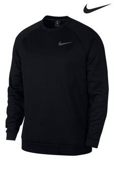 Nike Therma Black Training Crew Sweater