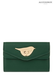 Accessorize Green Chester Chubby Purse