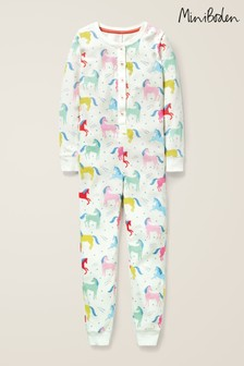 Boden Multi Cosy All-In-One Pyjamas