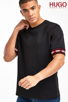 HUGO Black Derra Relaxed Fit T-Shirt