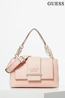 Guess Peach Tara Handle Bag