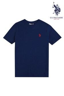 U.S. Polo Assn. Blue Jersey T-Shirt