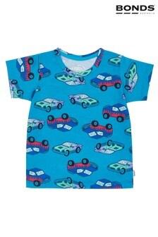 Bonds Blue Cotton T-Shirt