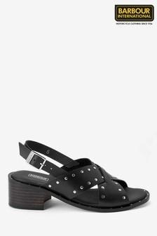 Barbour® International Black Skylar Sandals