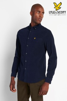 Lyle & Scott Plus Size Needle Cord Shirt
