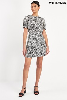 Whistles Petal Print Flippy Skirt
