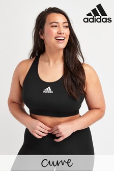 adidas Curve Don't Rest Padded Sports Bra