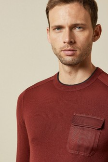 Ted Baker Red Knitted Jumper