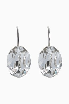 Серьги-подвески с кристаллами Swarovski®