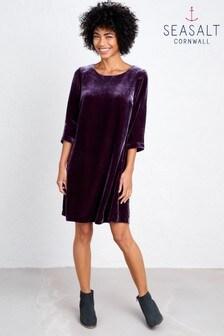 Seasalt Purple Trevissick Dress