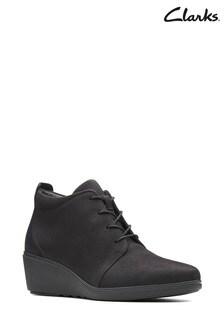Clarks Black Un Tallara Eva Boots