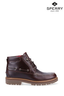 Sperry Brown Authentic Original Lug Chukka Boots