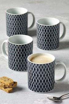 Set of 4 Hamilton Mugs