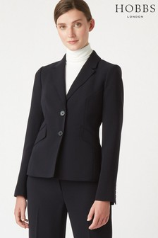 Hobbs Blue Mina Jacket