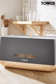 Scandi Bread Bin by Tower