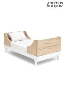 Mamas & Papas Lawson White Natural Cot Bed