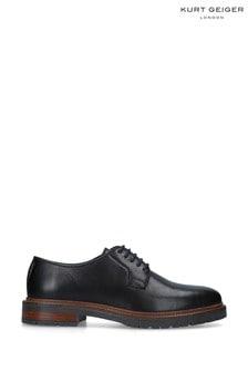 Kurt Geiger London Black Farringdon Derby Shoes