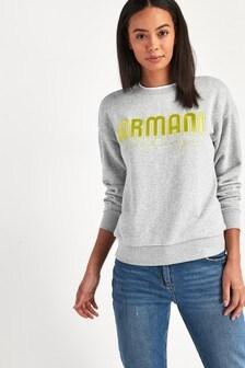 Armani Exchange Grey Sweatshirt