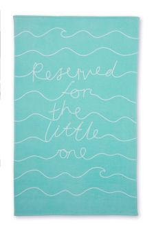 Reserved For The Little One Beach Towel