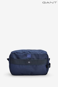 GANT Mens Navy Sports Wash Bag