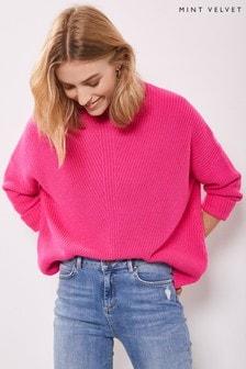 Mint Velvet Chunky Neon Stitch Knit Jumper